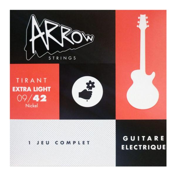 AR-ELL Jeu de cordes guitare électrique, extra light