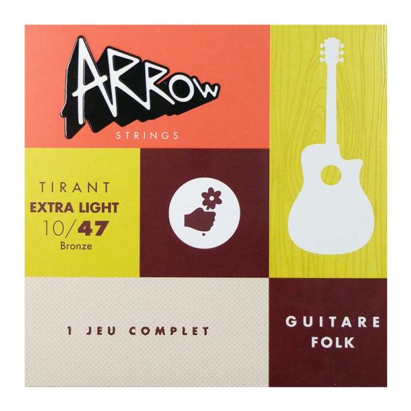 AR-FKXL - Cordes guitare folk extra light